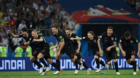 Croatia Russia Score Highlights From World Cup