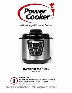 Pressure Cooker Xl Manual
