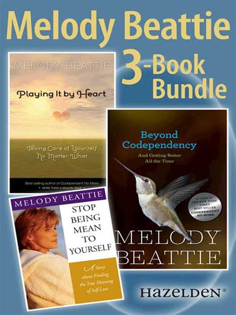 Melody Beattie 3 Title Bundle  King County Library System