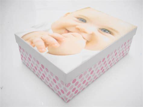 Cute New Baby Boy Girl Hard Cardboard A4 Storage Boxes