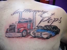 Cool Truck Tattoo Tattoomagz