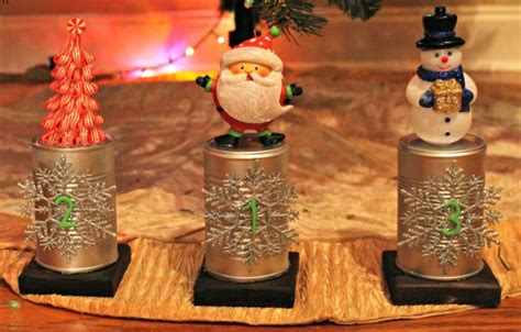 diy christmas trophies yellow tennessee