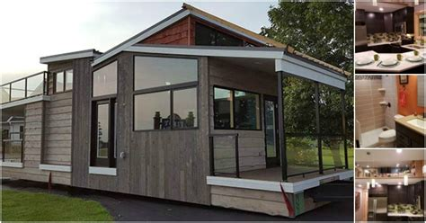 Luxurious & Modern 400sf Tiny Home In Wisconsin By Utopian