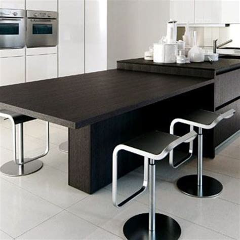 table coulissante cuisine ilot cuisine avec table coulissante dootdadoo com