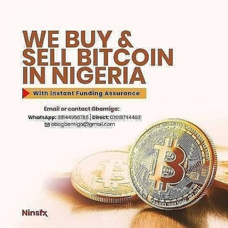 How to sell bitcoins summary. We buy sell Bitcoin at good rate, Lagos