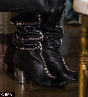 kellyanne conway dresses  head  toe leather daily