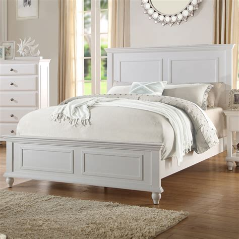 Bed Frame For And Footboard bedroom white wood bed frame headboard footboard