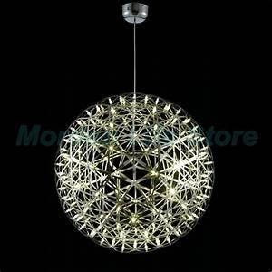 Off aluminum big ball riamond round led light ceiling