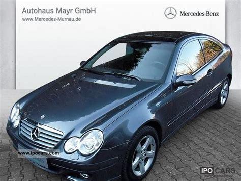 La c220 appartient également à cette même classe. 2004 Mercedes-Benz C 220 CDI Sports Coupe DPF el panorama roof + Ahk. + X - Car Photo and Specs