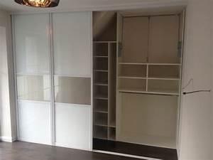 Kinderbett Unter Dachschräge : schlafzimmer schrank unter der schr ge einer gaube ~ Michelbontemps.com Haus und Dekorationen