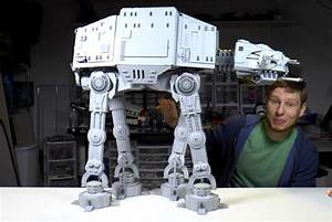 Timelapse Build Of Custom 6 000 Piece Lego At-at