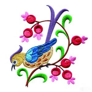 embroidery designs a birds paradise jf308 embroidery design