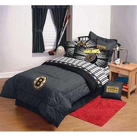 boston bruins full comforter sheet set
