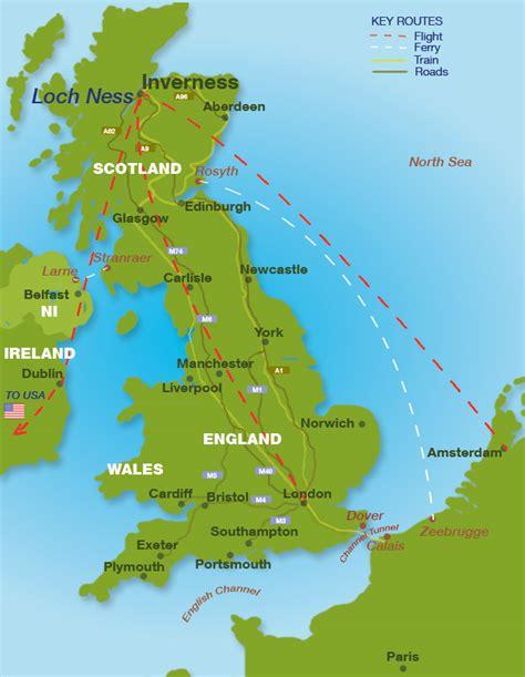 Carte De Touristique Interactive by Carte Touristique Interactive Inverness Et Du Loch Ness