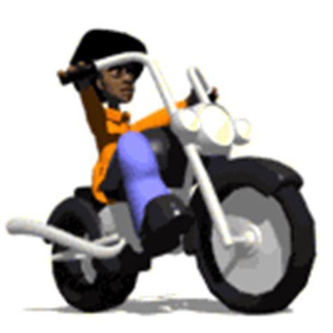 sepeda motor gif gambar animasi animasi bergerak