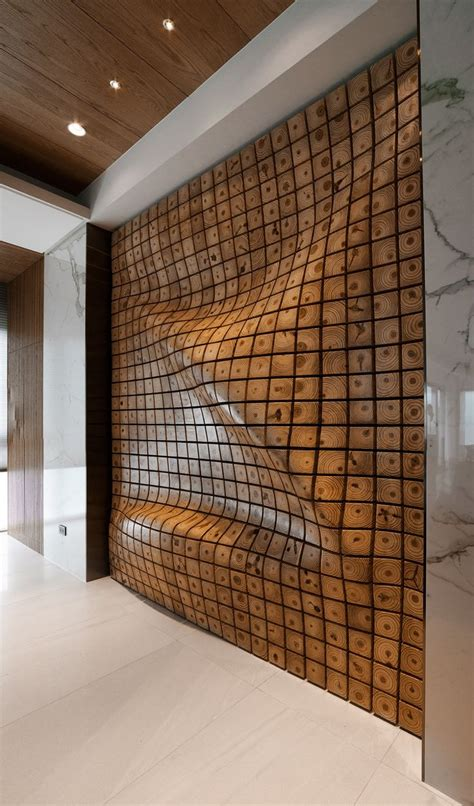 4 Homes With Design Focused On Beautiful Wood Elements by 25 Best Ideas About Wood Partition On Wooden