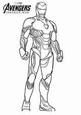 Coloring Iron Endgame Avengers Printable War Spiderman Marvel Infinity Colouring Sheets Colorear Adults Batman Coloringfolder sketch template