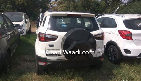 ford ecosport thunder edition  leaked india launch