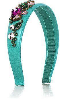miu miu jewel embellished headband love tiaras acessorios