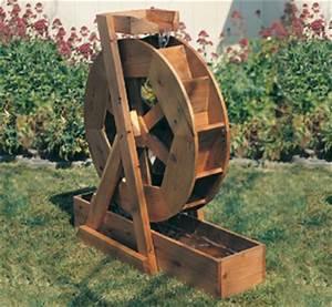 DIY Garden Water Wheel Plans Plans Free