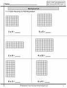 The Teacher 39 S Guide Free Worksheets SMARTboard Templates And Lesson Understanding Multiplication Using Arrays 4a Answers Worksheets For Second Grade Arrays Along With Multiplication Array Array Match Up Solve The Multiplication Sentences And Write The