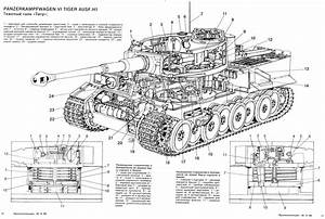 Tiger Tank Diagram