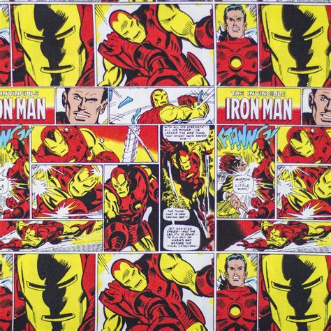 Iron Man Comic Book Print