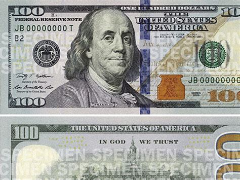 Money Wows The New $100 Bill Includes 3d Security Tricks