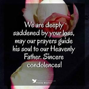 Condolences Messages for your Sympathy Card