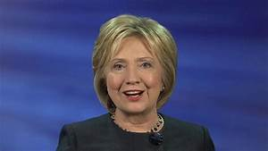 Hillary Clinton: 'I'm not nervous at all' about Sanders ...