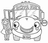 Bus Coloring Pages Printable Tayo Little Yellow Drawing Sheets Children Poems Books Colouring Wheels Bestcoloringpagesforkids Rhymes Train Line Poetry Tuesday sketch template