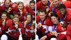 Canadian hockey teams open Olympic gold medal defences ...