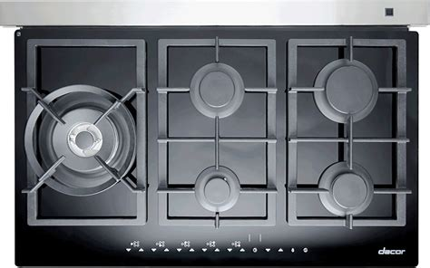 dacor rnttgbng   touchtop gas cooktop   sealed burners  btus perma flame