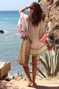 Tenue De Plage Chic : tenue de plage grande chemise blanche transparente ~ Nature-et-papiers.com Idées de Décoration