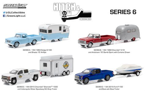 green light toys 1 64 hitch tow greenlight collectibles