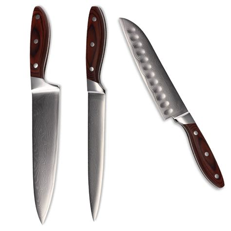 Steel Kitchen Knives For Sale by Sale Qing Brand Chef Slicing Santoku Damascus Knives