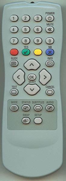 Genuine ALBA/BUSH Freeview Box Remote Control, Remote