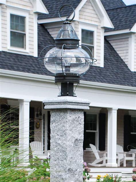 lamp post cap granite  wood stonewood products