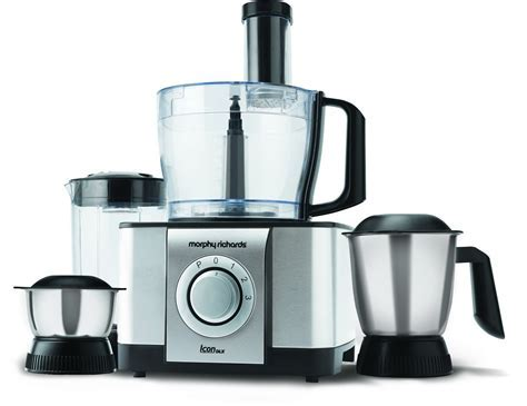 MORPHY RICHARDS ICON DLX FOOD PROCESSOR Reviews, MORPHY