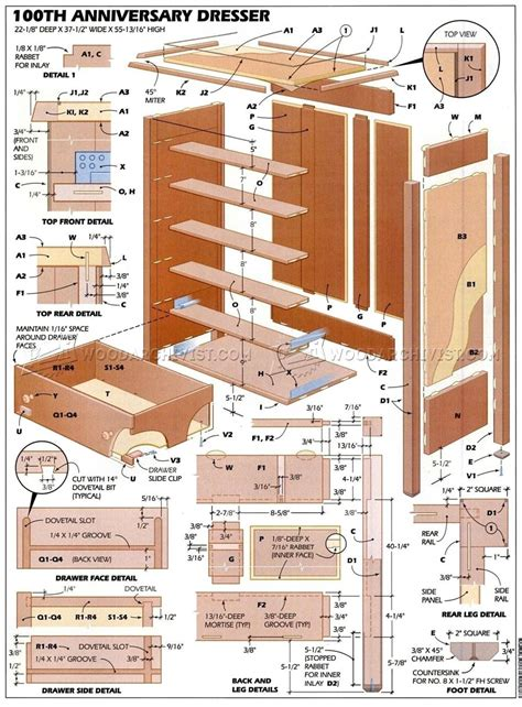 bedroom furniture plans woodarchivist