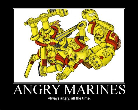 Angry Marines Meme - goatboy s monday 40k ranking the armies army lists bell of lost souls