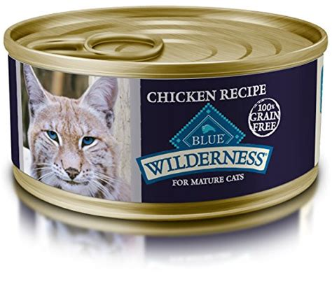 best canned cat food top 5 best blue buffalo mature canned cat food for sale 2017 save expert