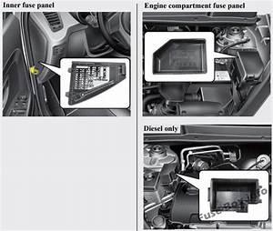 Fuse Box Diagram  U0026gt  Kia Soul  Am  2009