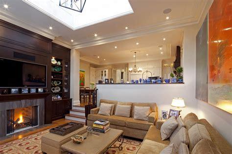 lighting for small kitchen livingroom traditional living room toronto by 7043