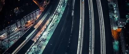 Wallpapers Ultrawide Night 1440 3440 Commute Stunning