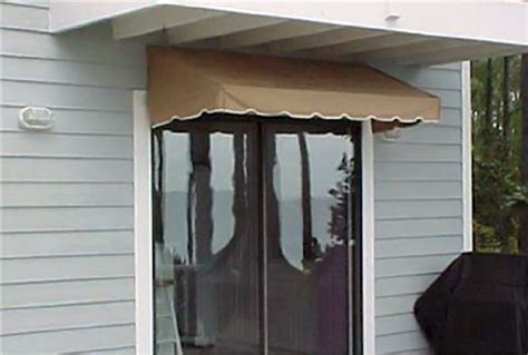 Window Awning Or Door Canopy 8′ Wide In Sunbrella Awning