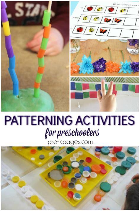 patterning activities for preschool pre k pages 478 | patterning activities for preschool