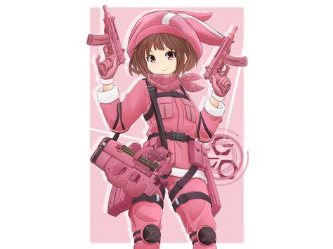 Sword Art Online Iphone Wallpaper 刀剑神域外传 Gun Gale Online Full Hd 壁纸 And 背景 2000x1500 Id 915121