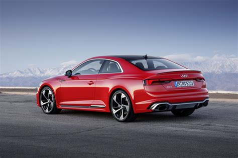 Audi Launches New Rs5 Coupe With 450 Ps Bi Turbo V6 Tfsi