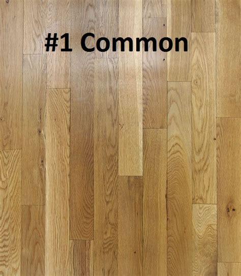 unfinished solid white oak  pc hardwood floors